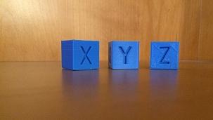 Test cubes
