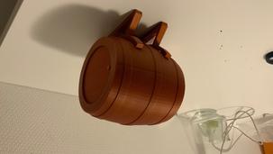 MTG Deck Box Barrel